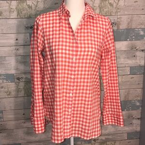 J Crew picnic button down layering piece size 6